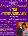 Church/Pastoral 7 Year Anniversary